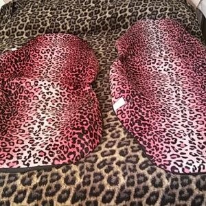 Other - Pink Leopard Print Seat Covers